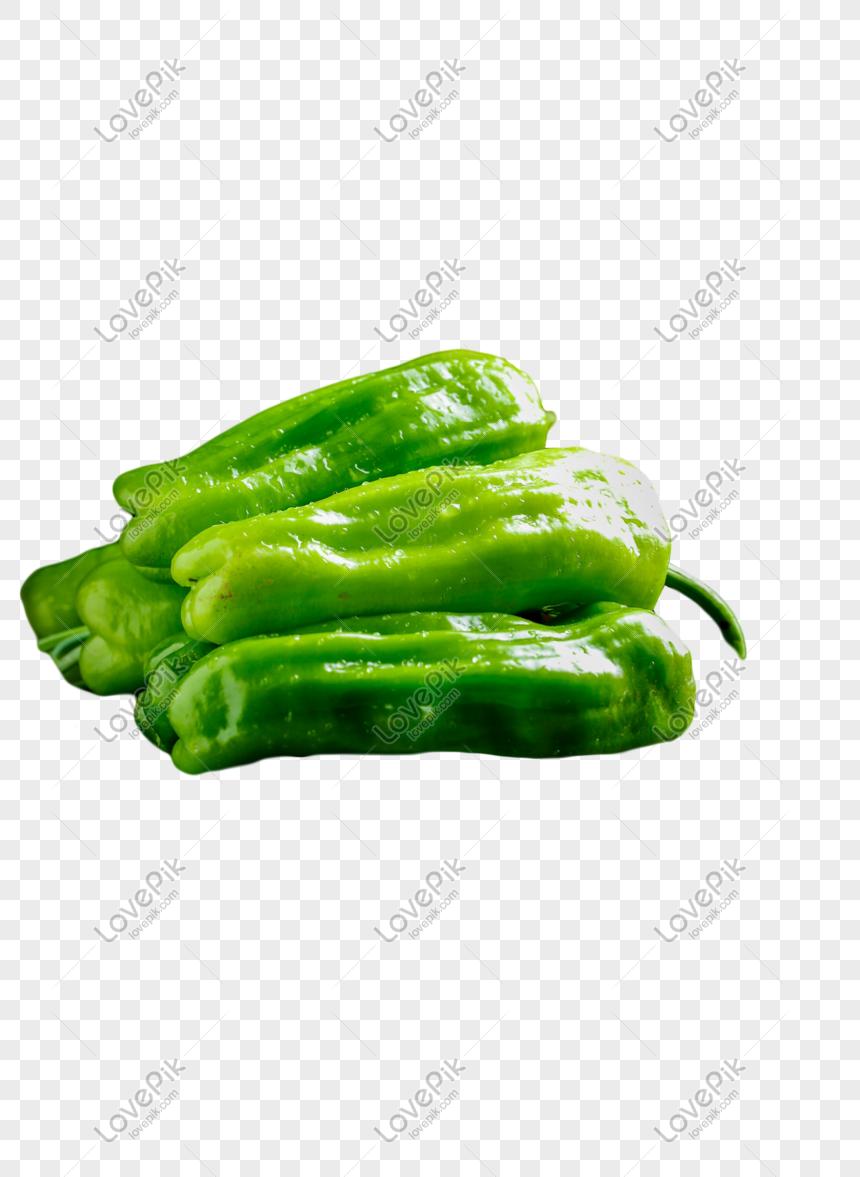 green pepper vegetables png