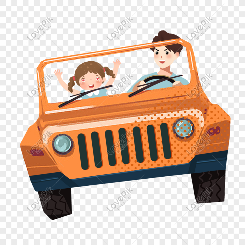 driving by car png
