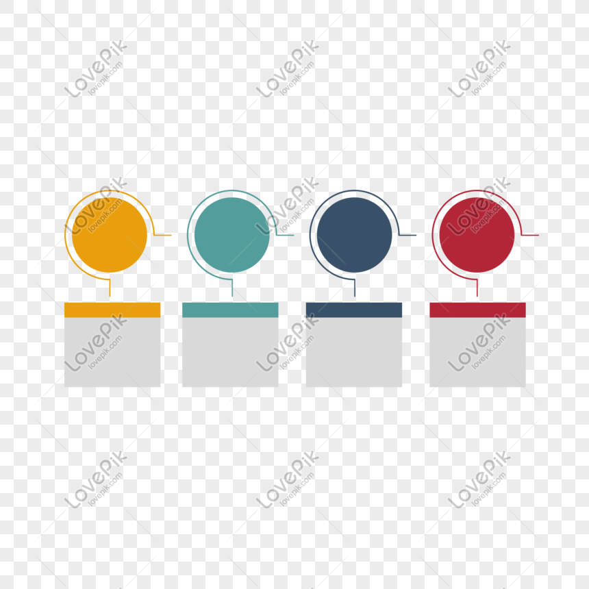 Color business ppt flow chart png image_picture free
