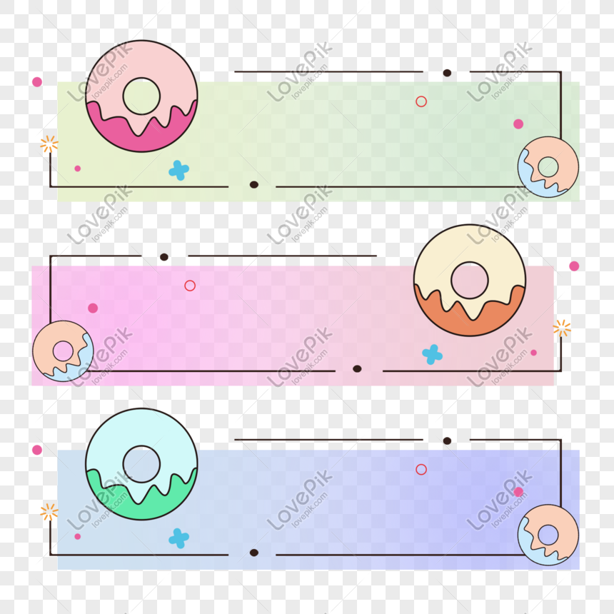 donut title box png
