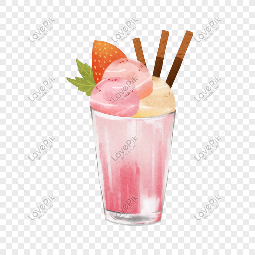hand painted best cold food png