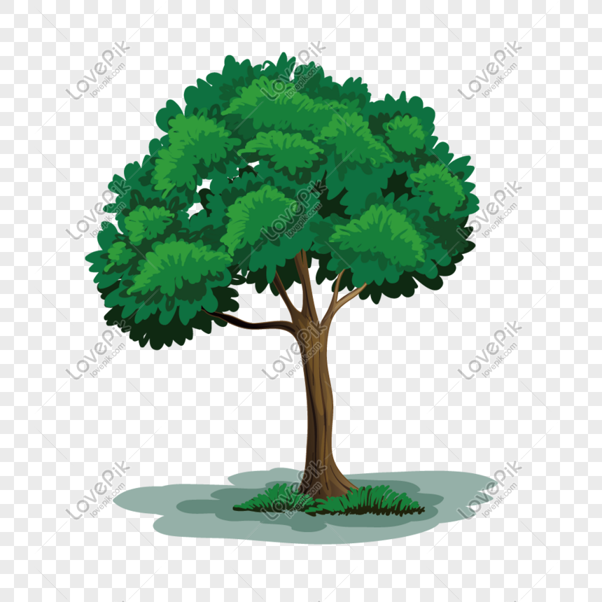 ต้นไม้ใหญ่การ์ตูน png