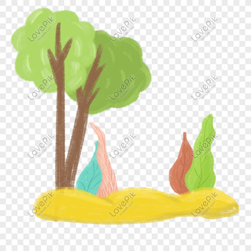 Hand Drawn Cartoon Forest Tree Border Decoration Png Image Picture Free Download 401446052 Lovepik Com 869,975 borders cartoons on gograph. lovepik