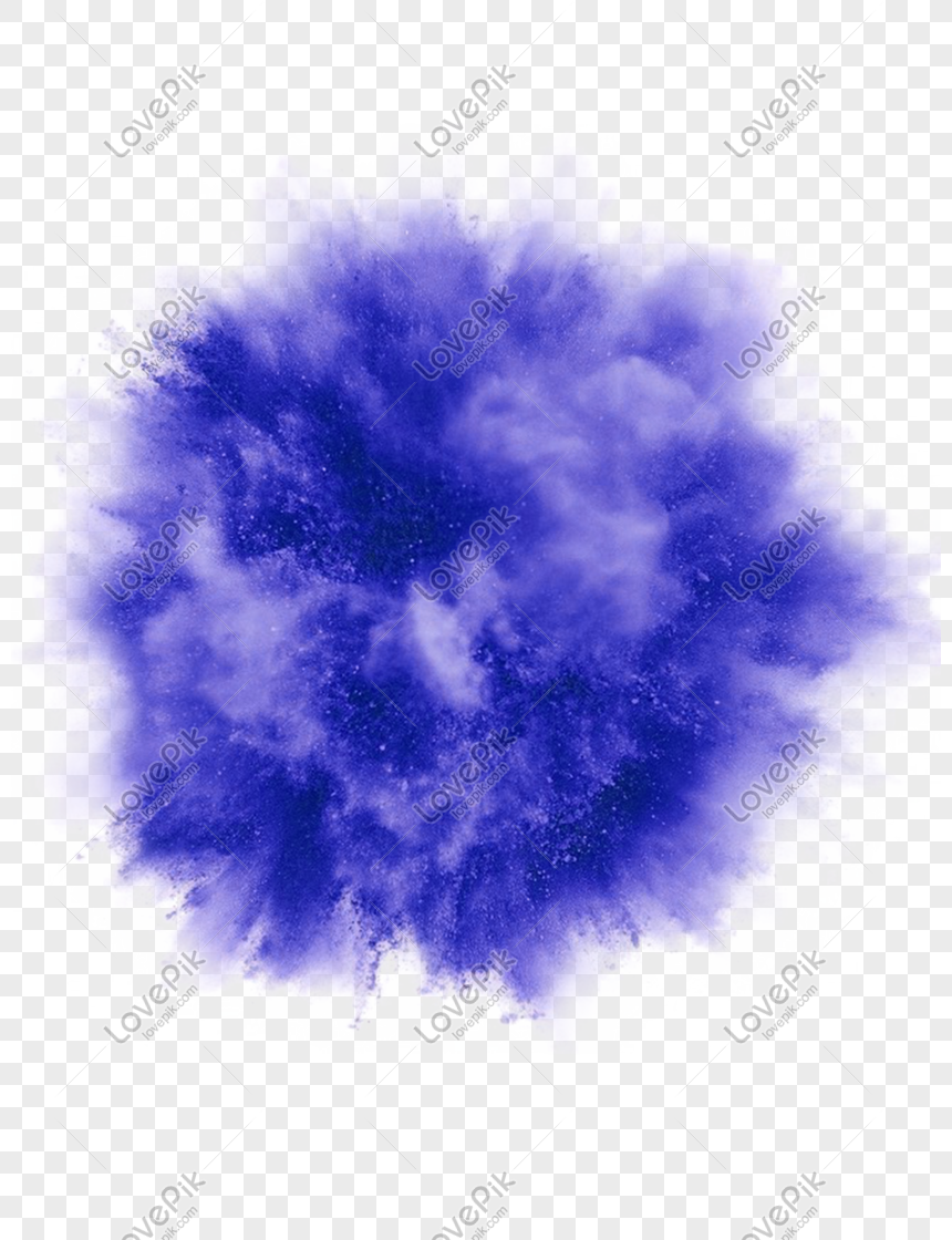 purple smoke effect element png