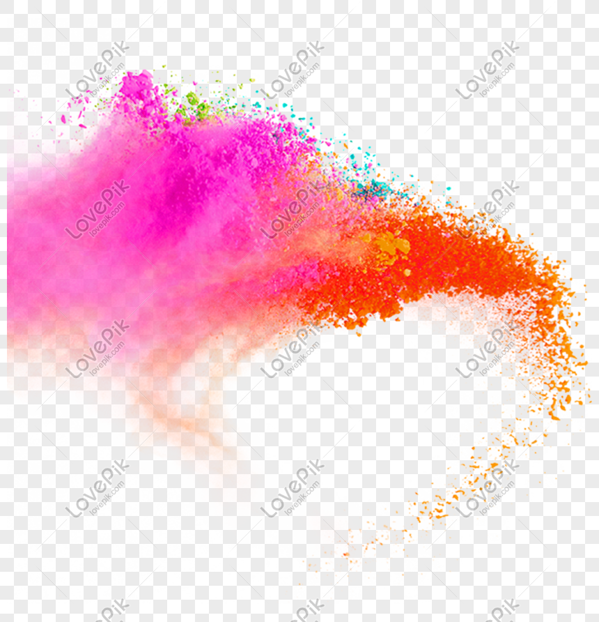 color gradient smoke effect element png