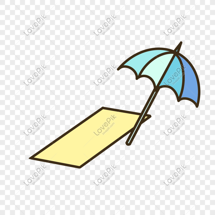 Beach Surf Umbrella Png Image Picture