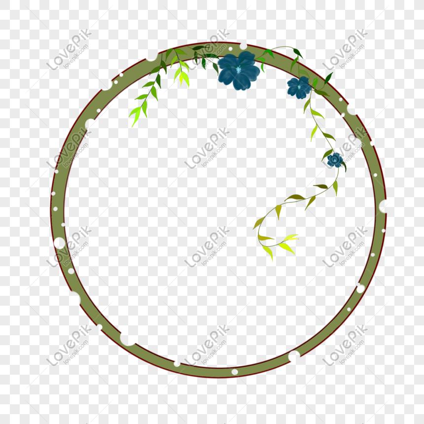 plant round bottom frame png