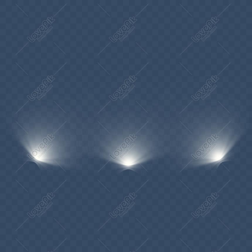 white bottom spotlight png