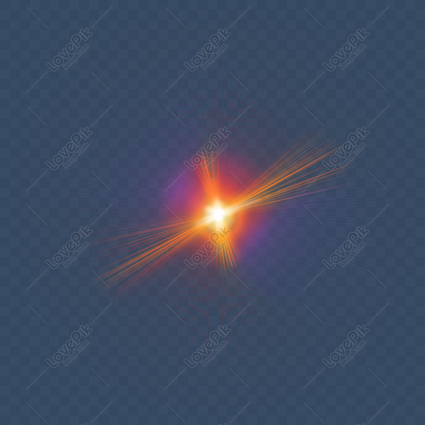 Orange Ray Lens Flare Png Image Picture Free Download 401485560 Lovepik Com