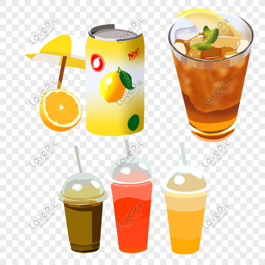 lemon juice black tea green bean soup various drinks png image picture free download 401485697 lovepik com lemon juice black tea green bean soup
