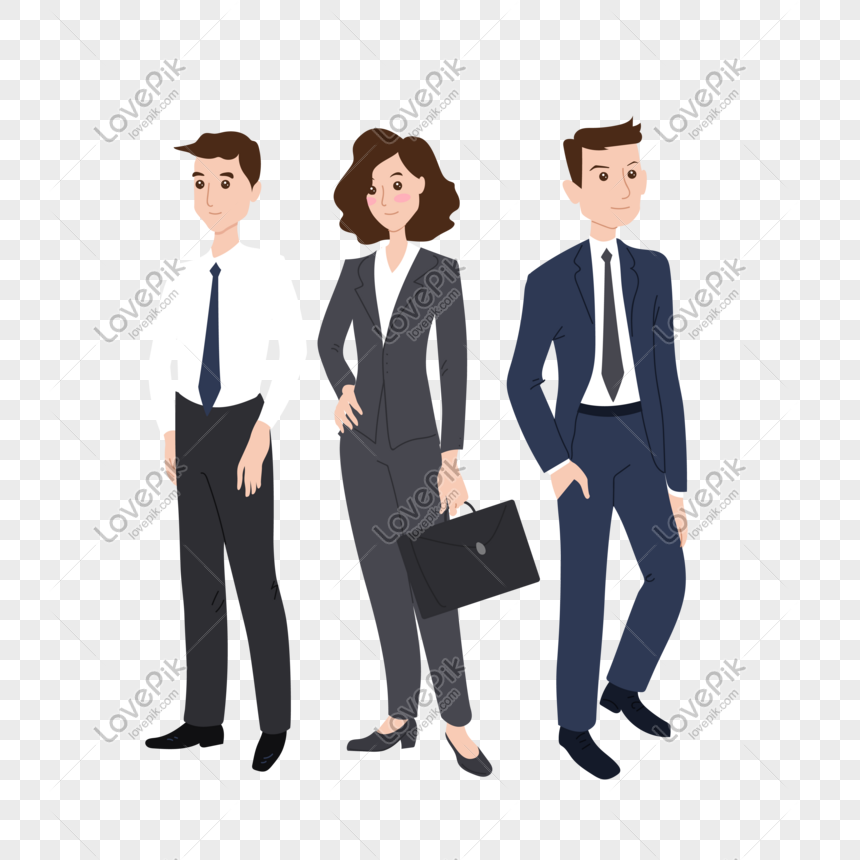 office business people vector png