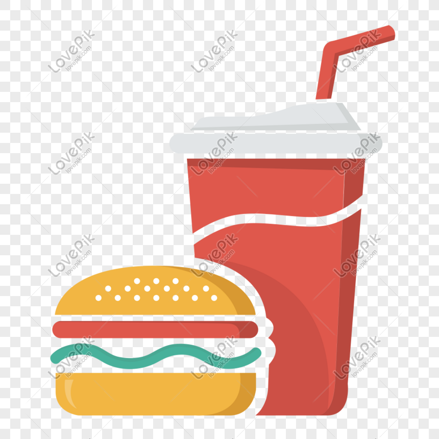 food hamburger drink icon free vector illustration material png image picture free download 401492469 lovepik com food hamburger drink icon free vector
