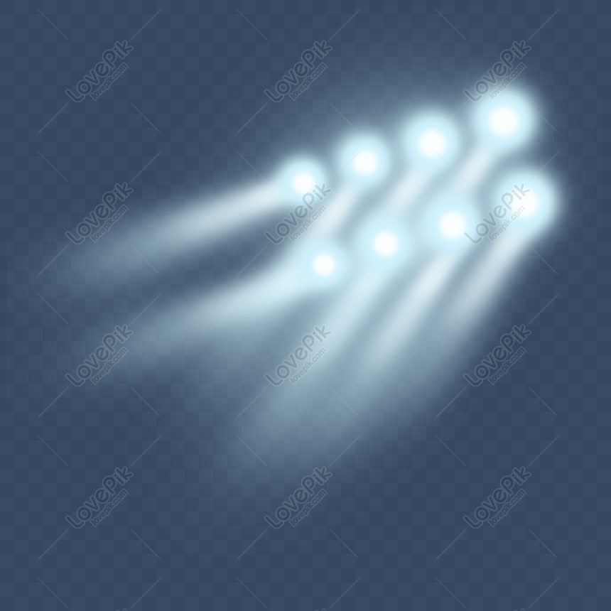 blue stage lighting png