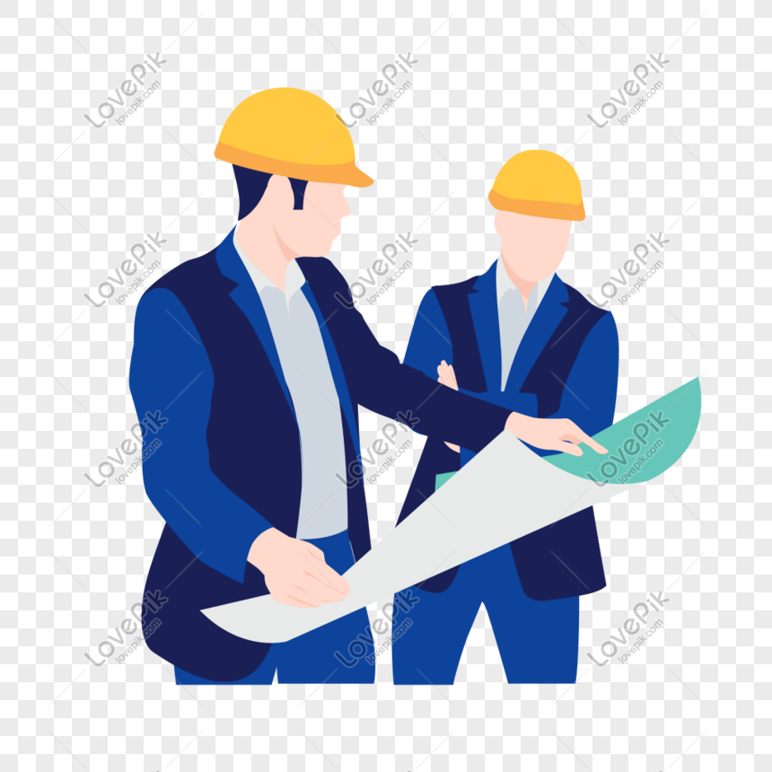 Construction Worker Looking At Drawings Icon Free Vector Illustr Png Image Picture Free Download 401498249 Lovepik Com
