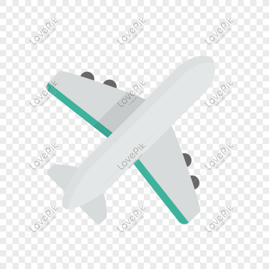 Airplane Icon Free Vector Illustration Material Png Image Picture