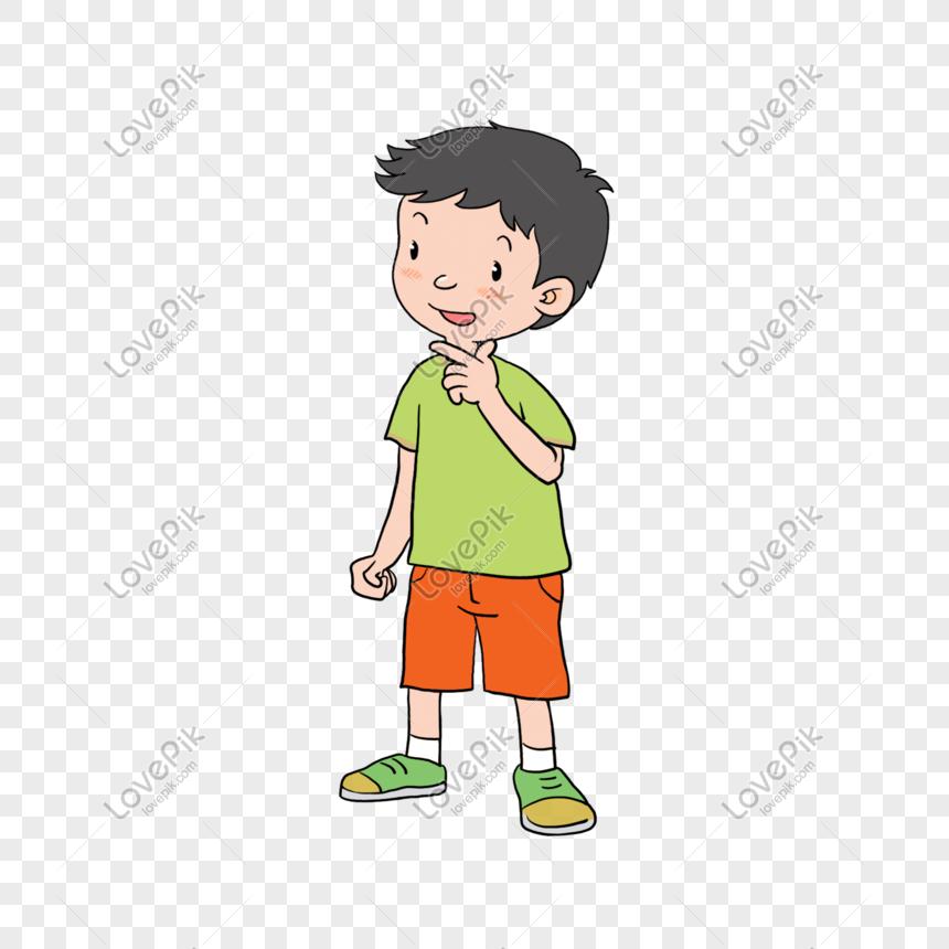صورة ولد يفكر رسم Feat