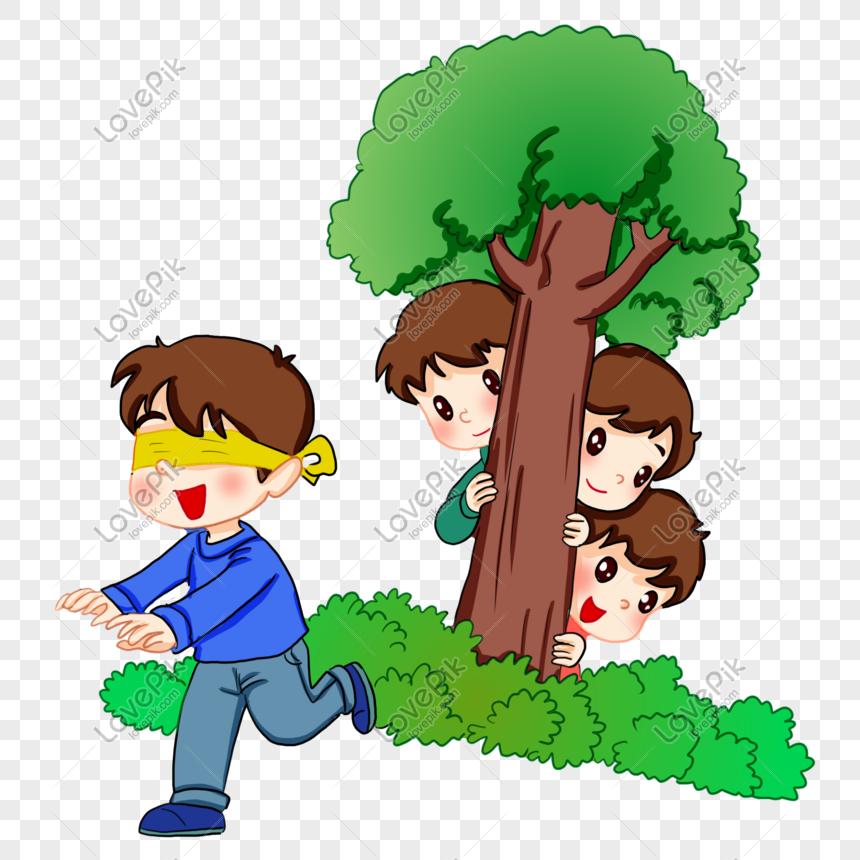 Прятки картинка для детей
