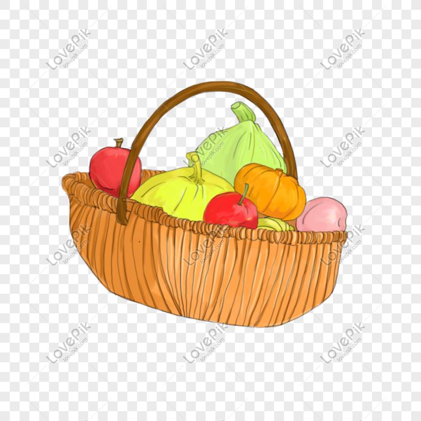 Lovepik صورة Psd 401517156 Id الرسومات بحث صور سلة من الفواكه والخضروات الطازجة