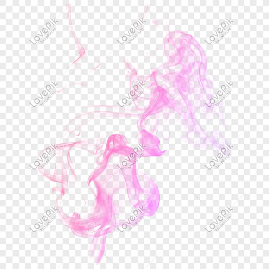 colored smoke pink smoke png