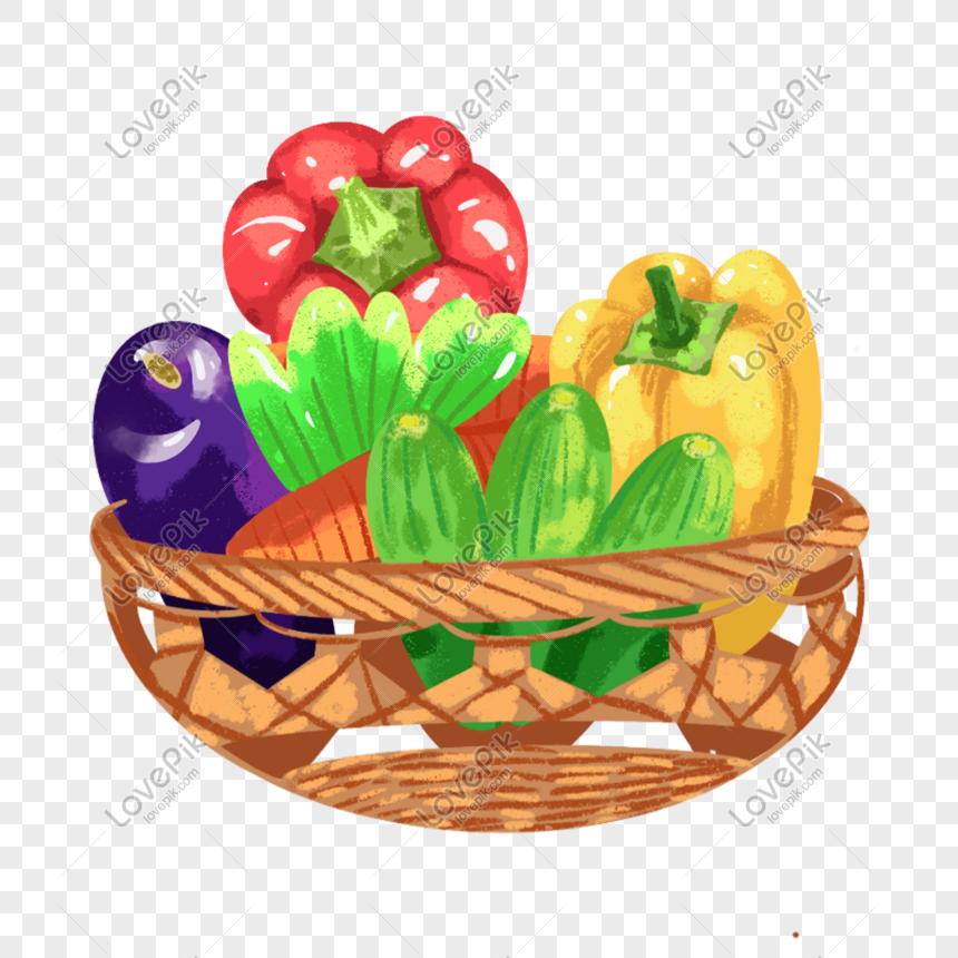 Lovepik صورة Psd 401522457 Id الرسومات بحث صور سلة من الخضروات