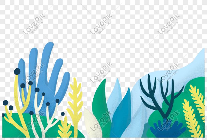 good house green planting illustration png