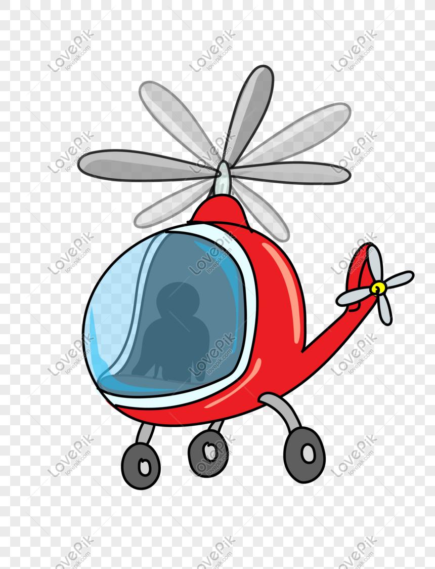 Helikopter Kartun PNG Grafik Gambar Unduh Gratis Lovepik