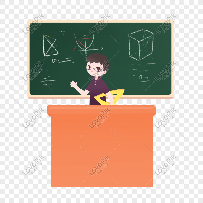 Math Teacher Png Image Picture Free Download 401526723 Lovepik Com