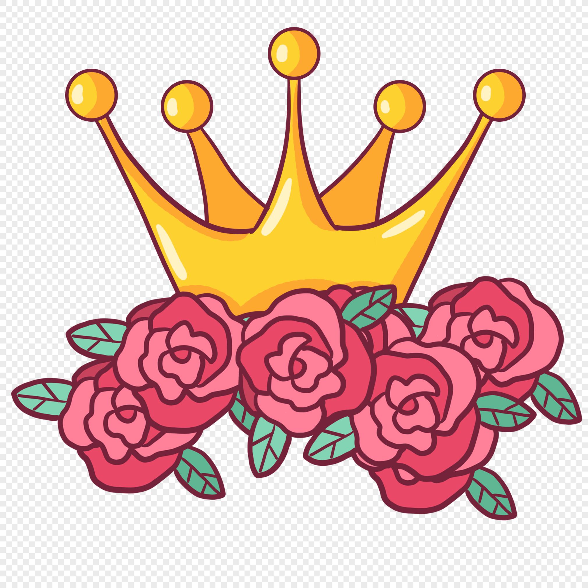 корона с цветами картинки японии