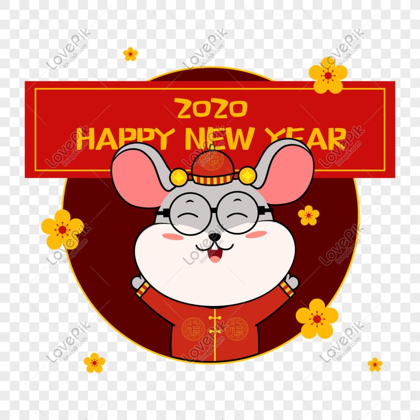gambar kartun tahun tikus