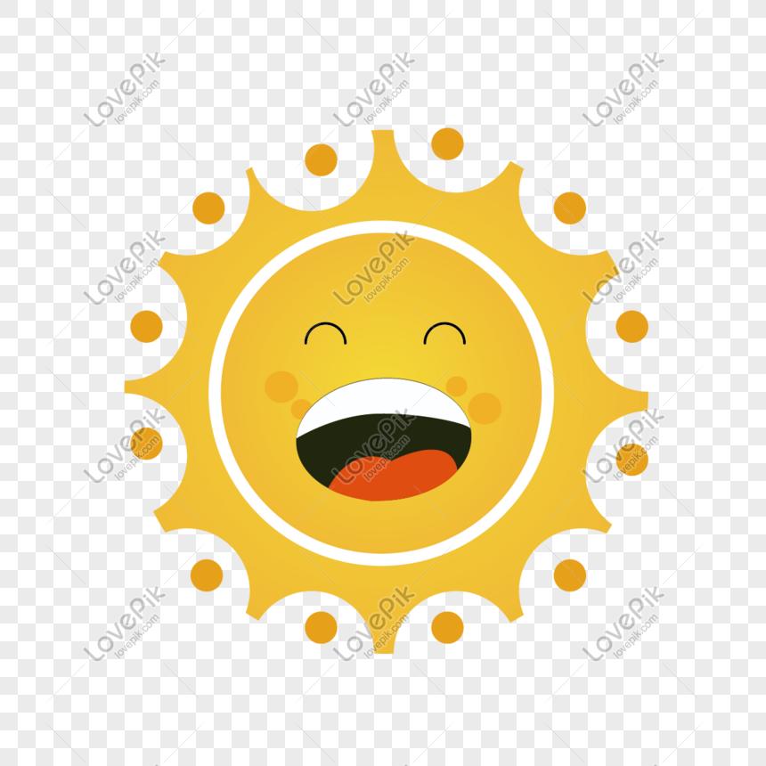 güneş karikatür png