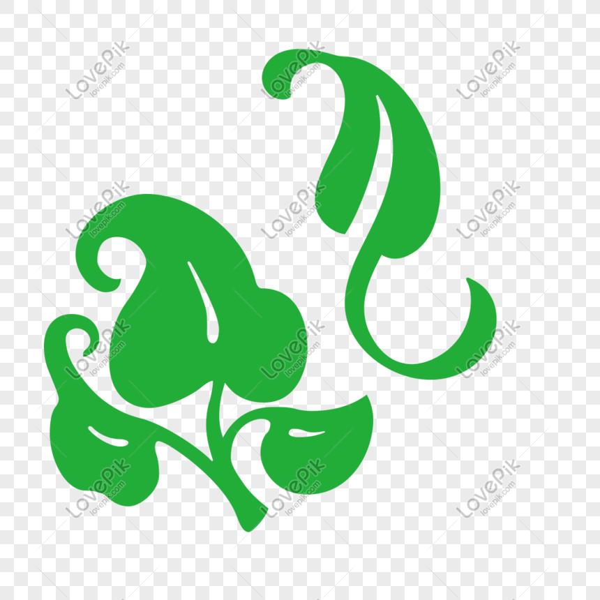 Folhas De Elemento De Desenho Verde Folha Imagem Gratis Graficos