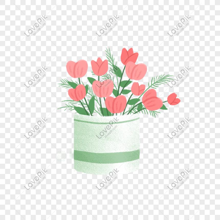 Горшечный цветок png