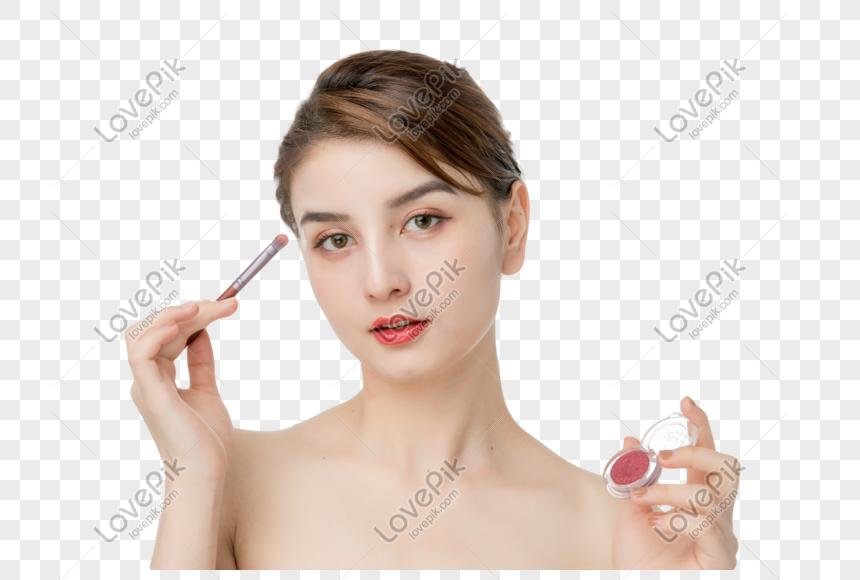 sombra de maquiagem feminina png