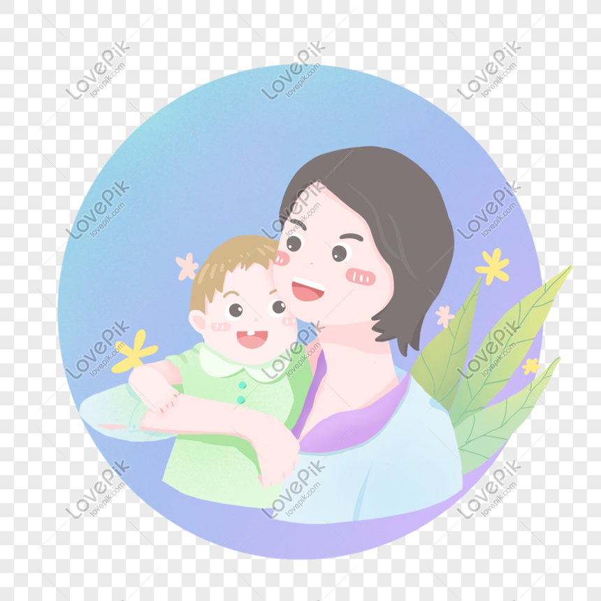 Cartoon Mother And Baby Pictures Png Image Picture Free Download 401547673 Lovepik Com