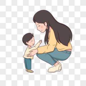 440000 Kartun Ibu Dan Anak Foto Hd Unduh Gratis Id Lovepik Com