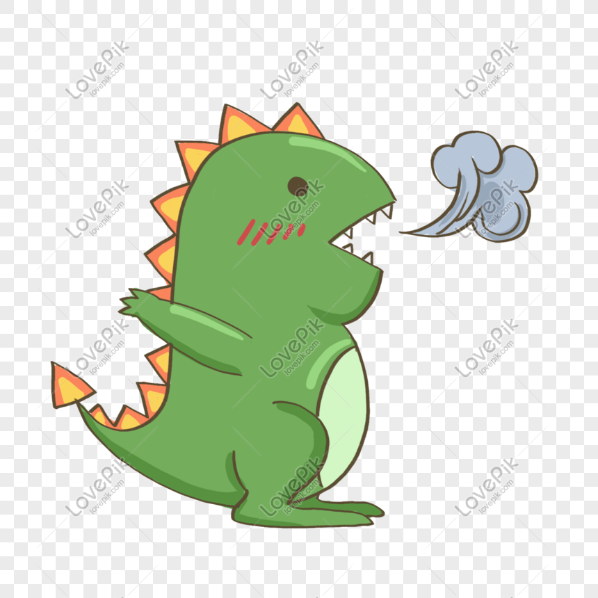 Green Cartoon Fire Breathing Dinosaur Png Image Picture Free Download 401555629 Lovepik Com They're so easy to use and they can be quickly styled. green cartoon fire breathing dinosaur