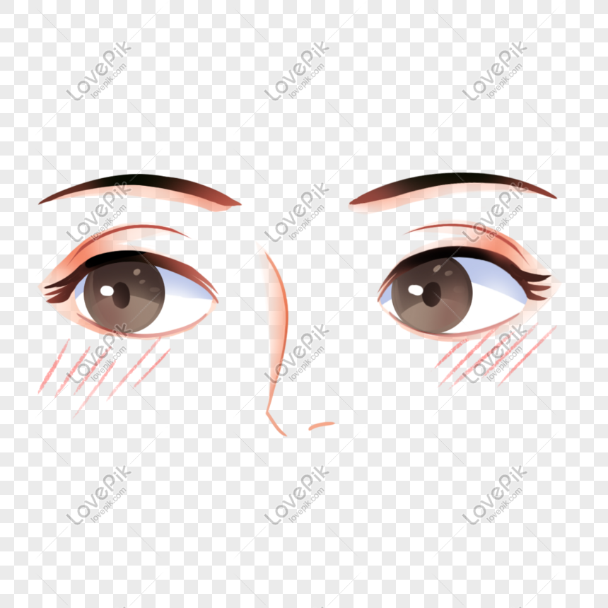 Cartoon Eyes Png Image Picture Free Download 401559636 Lovepik Com