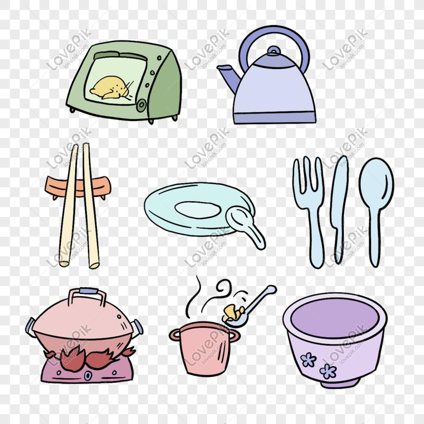 Kitchen Utensils Png Image Psd File Free Download Lovepik 401564012