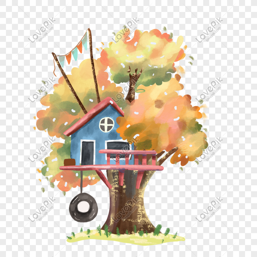 Cartoon Tree House Beautiful Picture Png Image Picture Free Download 401565097 Lovepik Com Choose from 1300+ cartoon house graphic resources and download in the form of png, eps, ai or psd. cartoon tree house beautiful picture