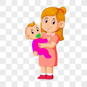 Cartoon Mother And Baby Pictures Png Image Picture Free Download 401547691 Lovepik Com
