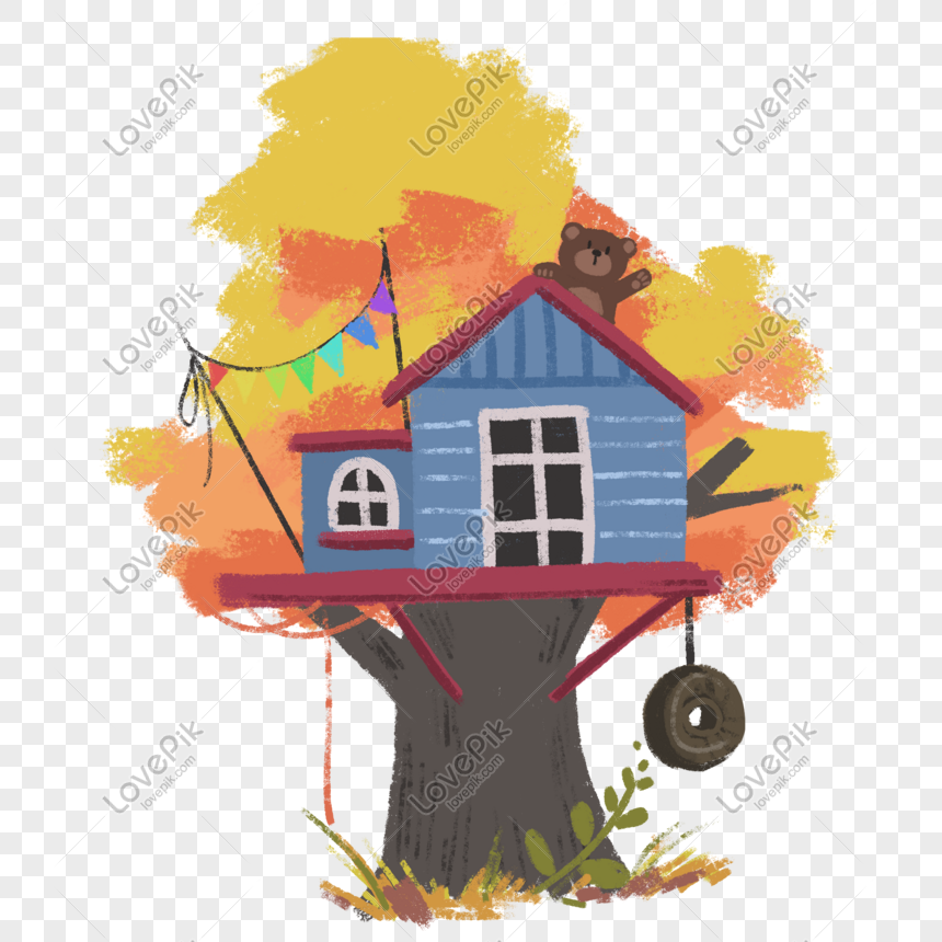 Cartoon Tree House Beautiful Picture Png Image Picture Free Download 401565702 Lovepik Com Cartoon rainbow trees grass png. cartoon tree house beautiful picture