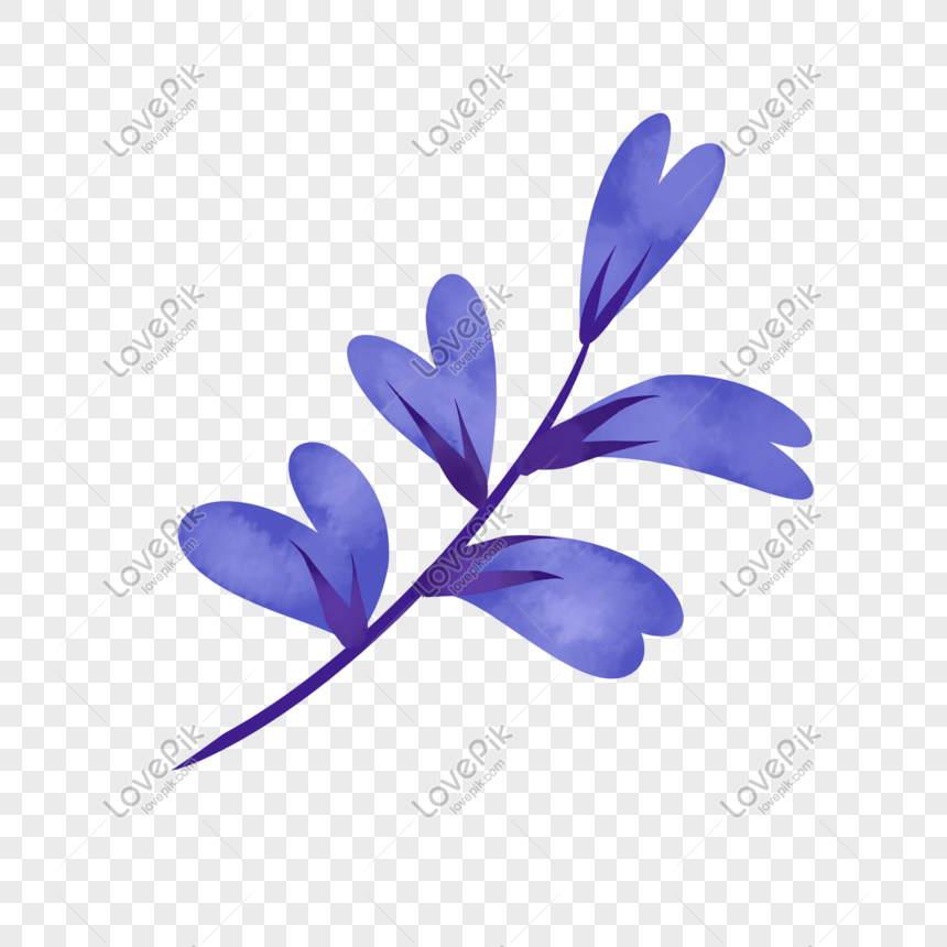 cartoon purple flower illustration png