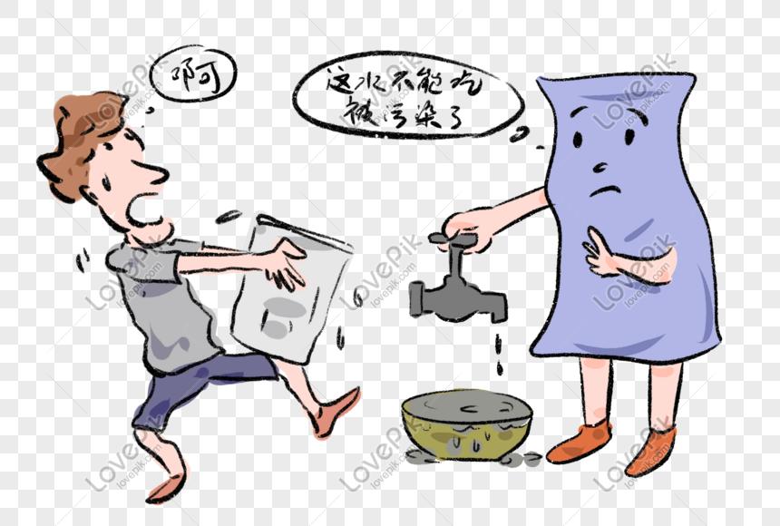 كاريكاتير رسوم ساخرة متعلقة بالبيئة والتعليق عليها