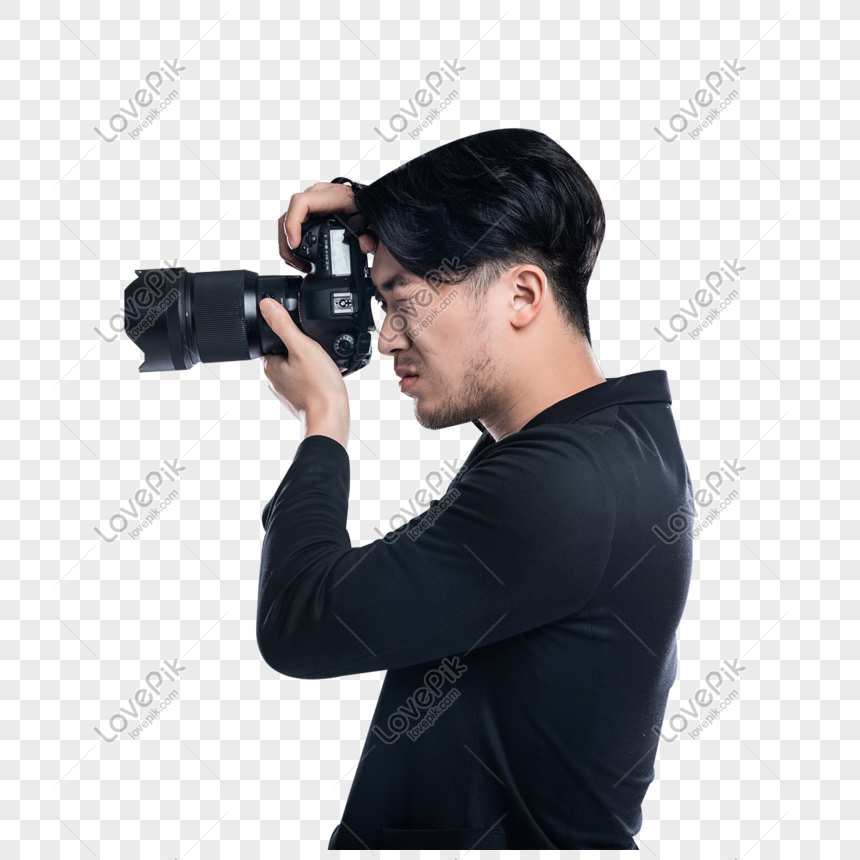 Photographer Taking A Photo With Camera Png Image Picture Free Download 401607753 Lovepik Com