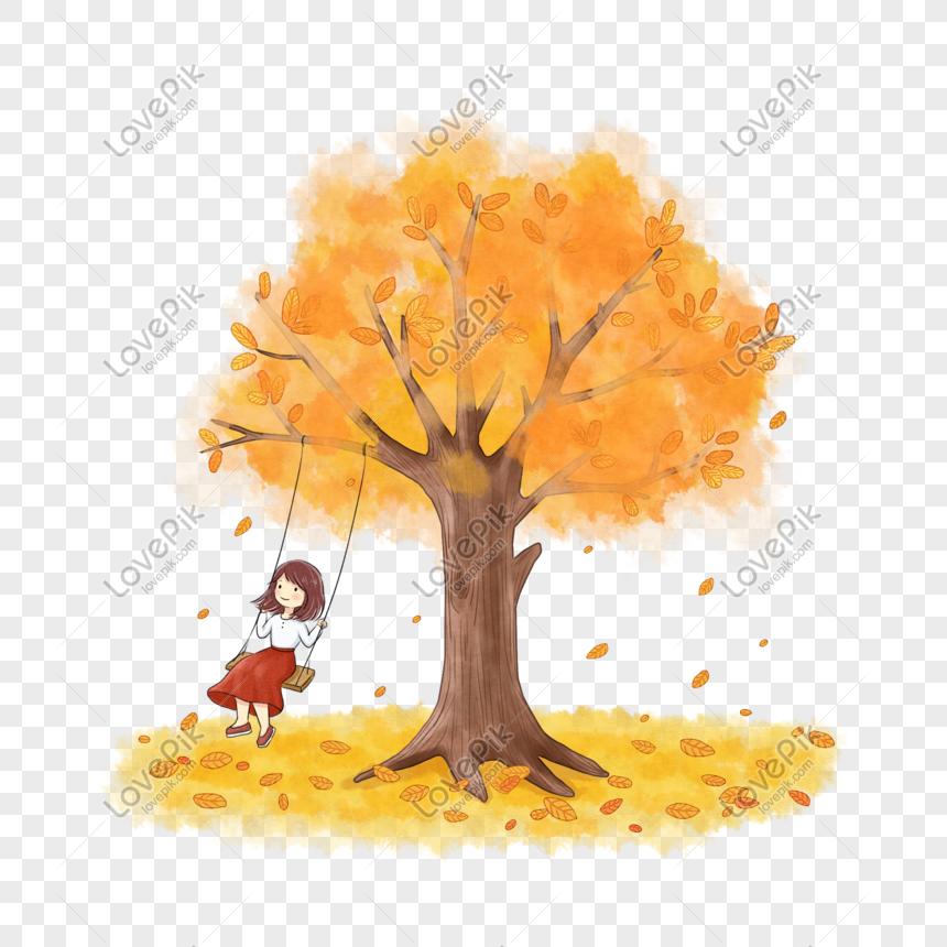 秋天的樹 png