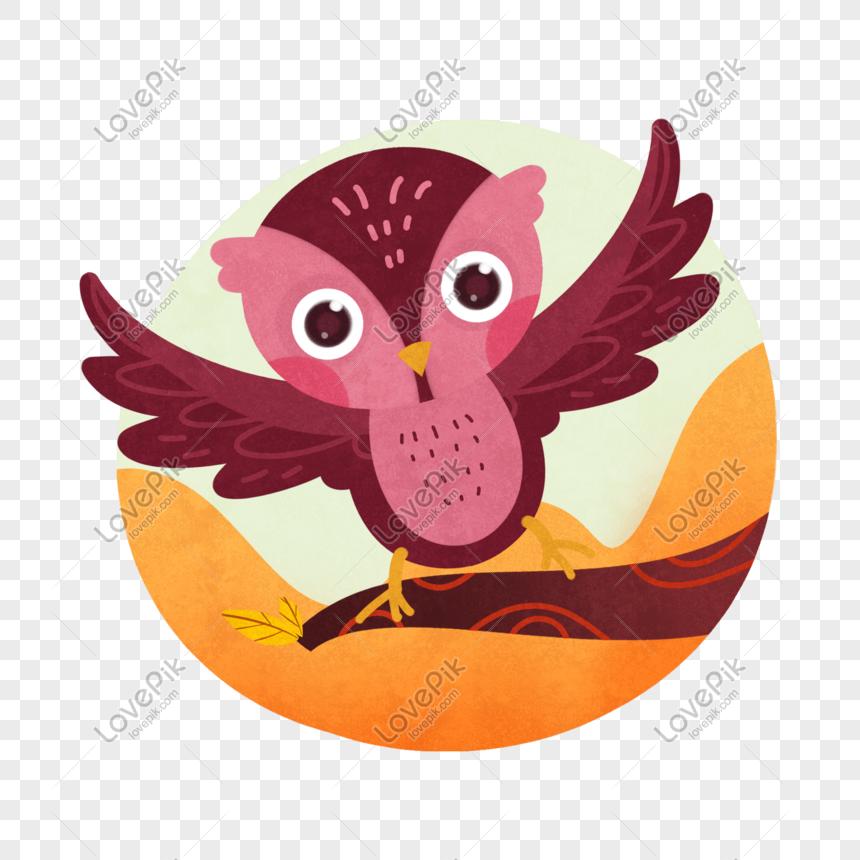 Burung Hantu Digambar Tangan Gambar Unduh Gratis Grafik