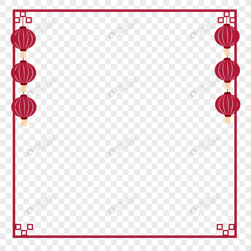chinese new year border png