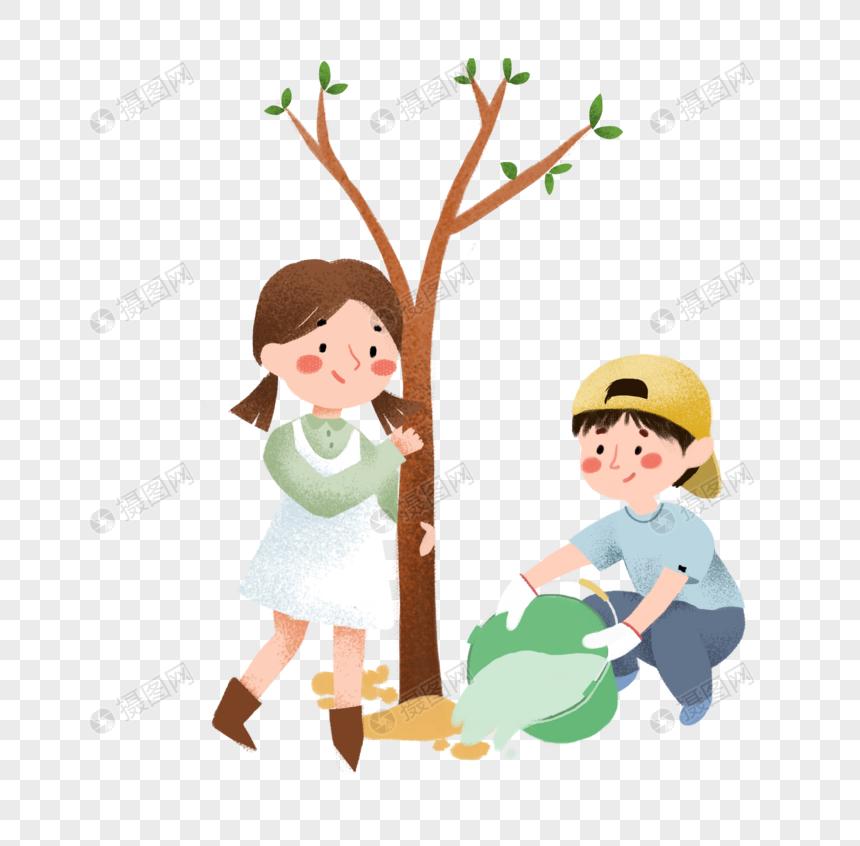 Lovepik صورة Png 401673822 Id الرسومات بحث صور أطفال يزرعون عناصر الشجرة