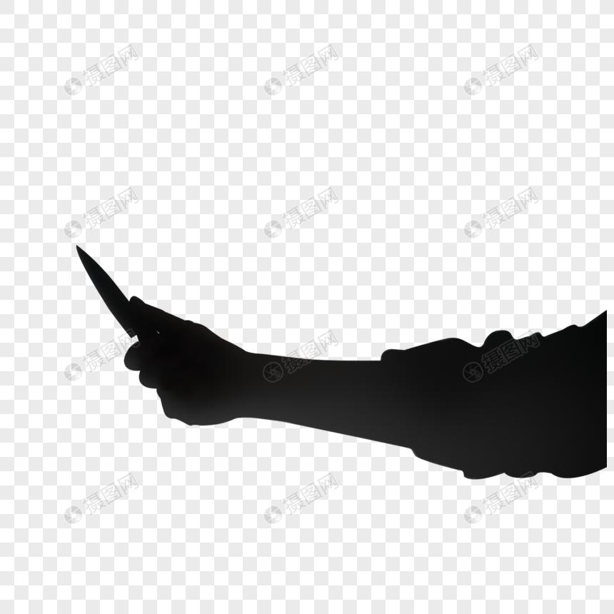 Siluet Lelaki Memegang Pisau Kiri Gambar Unduh Gratis Imej 401674187 Format Png My Lovepik Com