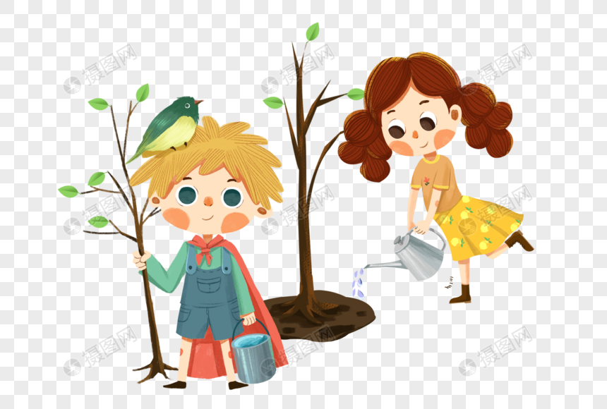 Lovepik صورة Png 401690207 Id الرسومات بحث صور أطفال يزرعون الأشجار في يوم الشجرة